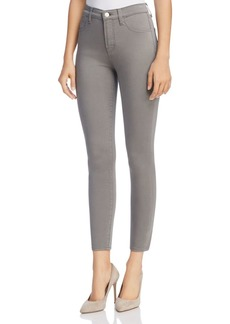 J Brand Alana Sateen Jeans in Zinc - 100% Exclusive