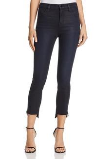 J Brand Alana Step Hem Zip Skinny Jeans in Hex - 100% Exclusive