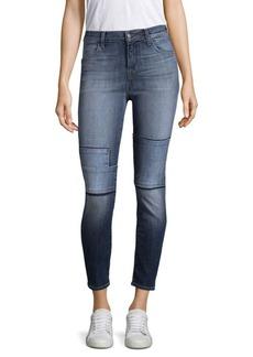 J Brand Alana Tonal Patch Jeans