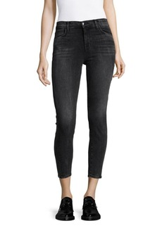 J BRAND Alanca Cropped Jeans