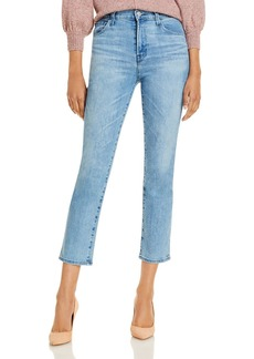 J Brand Alma High Rise Straight Jeans in Atra