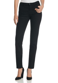 J Brand Amelia Mid Rise Straight Jeans in Vanity