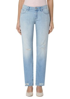 J Brand 'Amelia' Straight Leg Jeans (Star Struck Destruct)