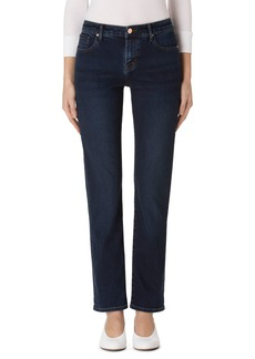 J Brand 'Amelia' Straight Leg Jeans (Throne)