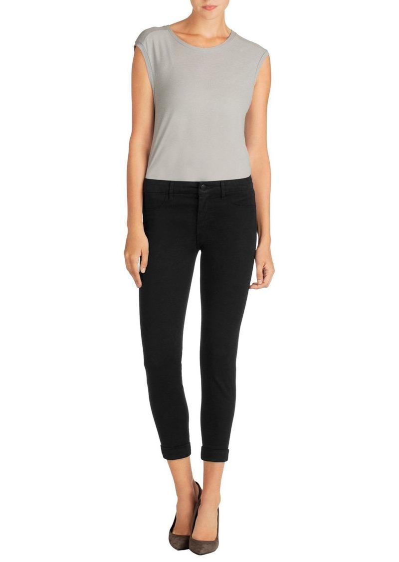 J Brand 'Anja' Cuffed Crop Skinny Jeans