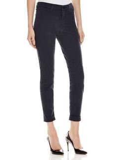 J Brand Anja Cuffed Skinny Ankle Jeans in Slate