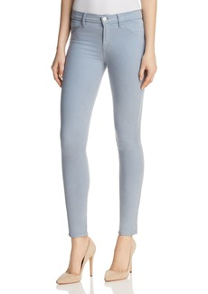J Brand Anja Mid Rise Skinny Jeans in Yearling