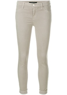 J Brand Anja mid rise trousers - Grey