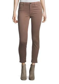 J Brand Anja Skinny Cuffed Ankle Jeans