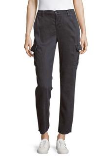 J BRAND Ankle-Length Cargo Denim Pants