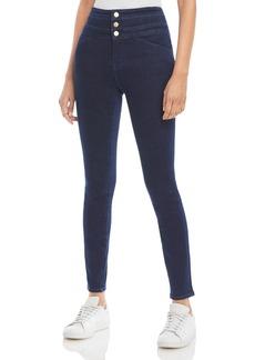 J Brand Annalie Extra Stretch High-Rise Skinny Jeans