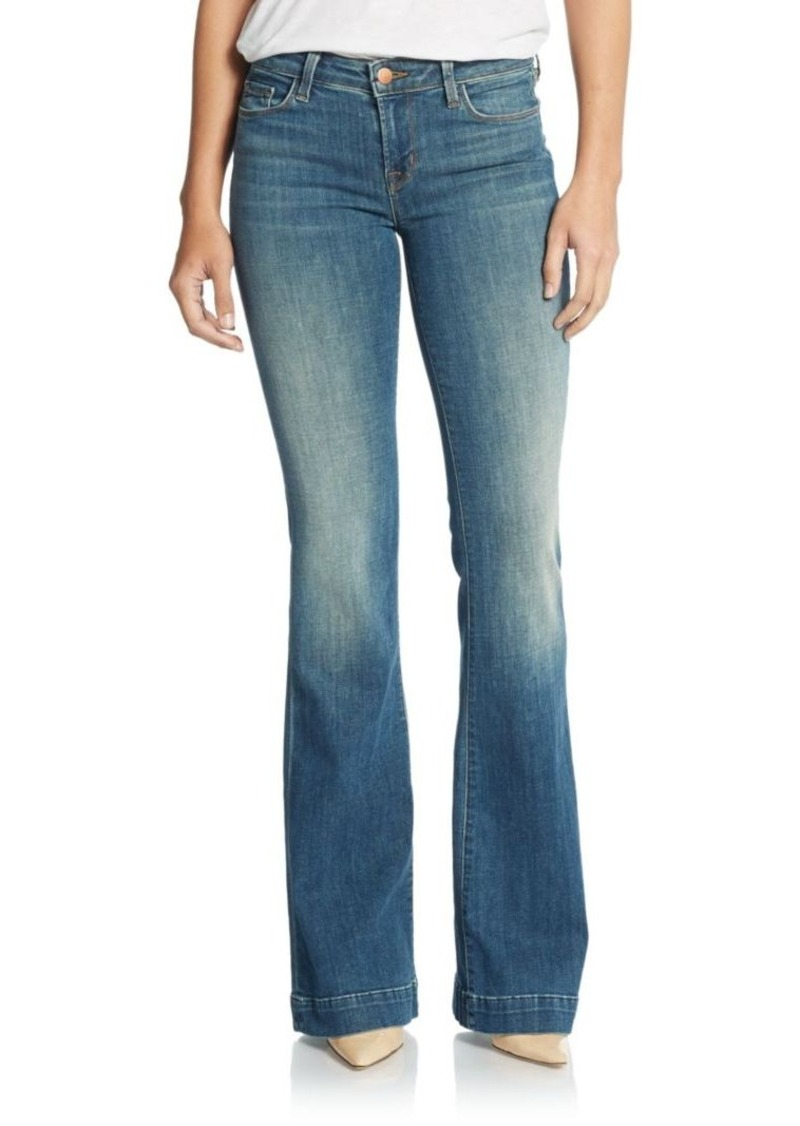 J BRAND Another Love Story Mid-Rise Flare Jeans