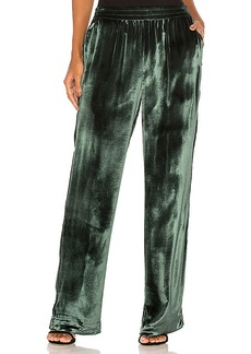 J Brand Ardon Velvet Pant in Green. - size L (also in S,XS,M)