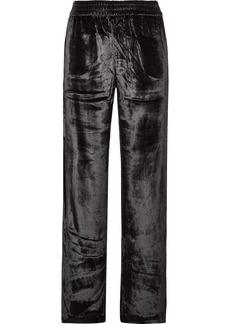 J Brand Ardon Velvet Wide-leg Pants