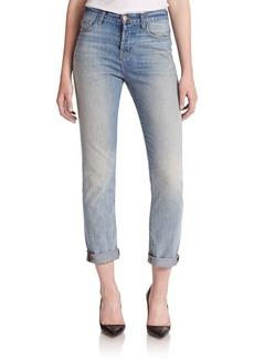J BRAND Arley High-Rise Boy-Fit Jeans