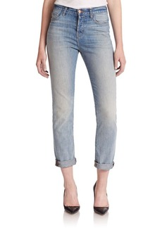 J BRAND Arley High-Rise Boy-Fit Jeans
