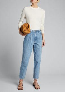 J Brand Aurelia Long-Sleeve Crewneck Sweater