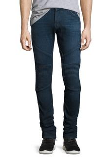 J Brand Bearden Moto Slim-Fit Jeans