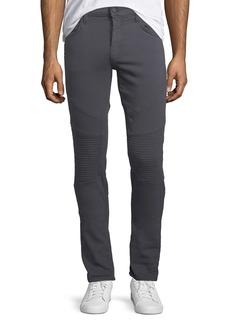 J Brand Bearden Skinny-Leg Moto Jeans