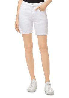 J Brand Billey Denim Shorts in White