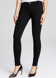 J Brand Black Low Rise Jeans in Vanity