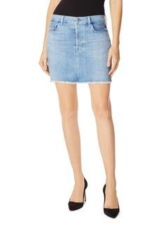 J Brand Bonny Denim Mini Skirt in Andromeda
