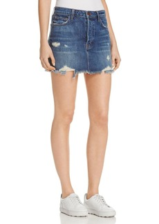 J Brand Bonny Denim Mini Skirt in Hoxton
