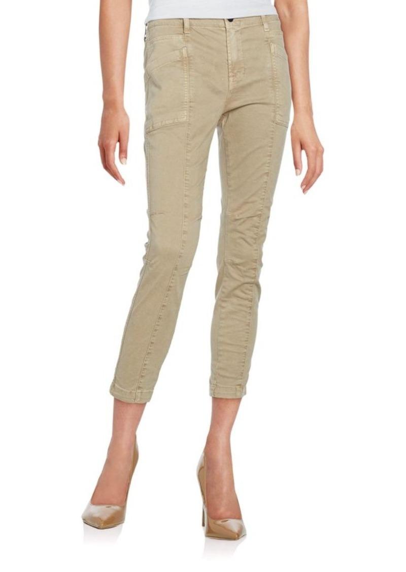 J BRAND Brynes Cropped Skinny Cargo Pants
