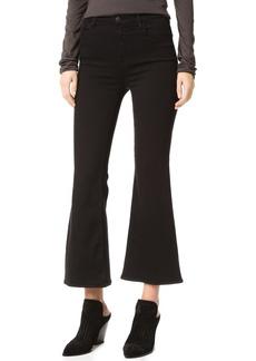 J Brand Carolina Super High Rise Flare Jeans
