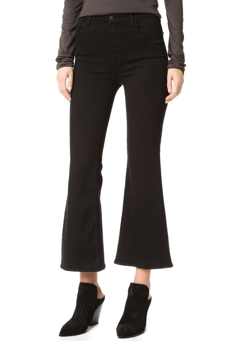 54b4f05dd364 J Brand J Brand Carolina Super High Rise Flare Jeans