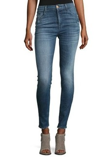 J Brand Carolina Super High-Rise Skinny Jeans