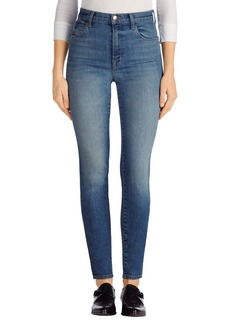 J Brand Carolina Super High Rise Skinny Jeans (Elusive Wash)