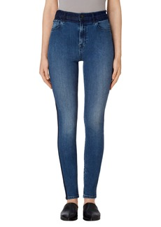 J Brand Carolina Super High Rise Skinny Jeans (Point Blank)