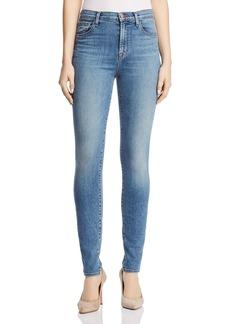 J Brand Carolina Super High Rise Skinny Jeans in Delphi
