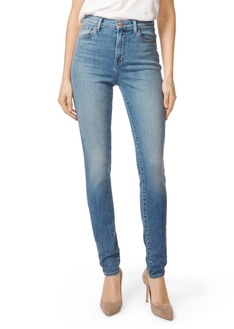 aa3e6801f5ff J Brand J Brand Carolina Super High Waist Skinny Jeans (Delphi)