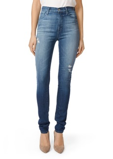 J Brand Carolina Super High Waist Skinny Jeans (Mystic)