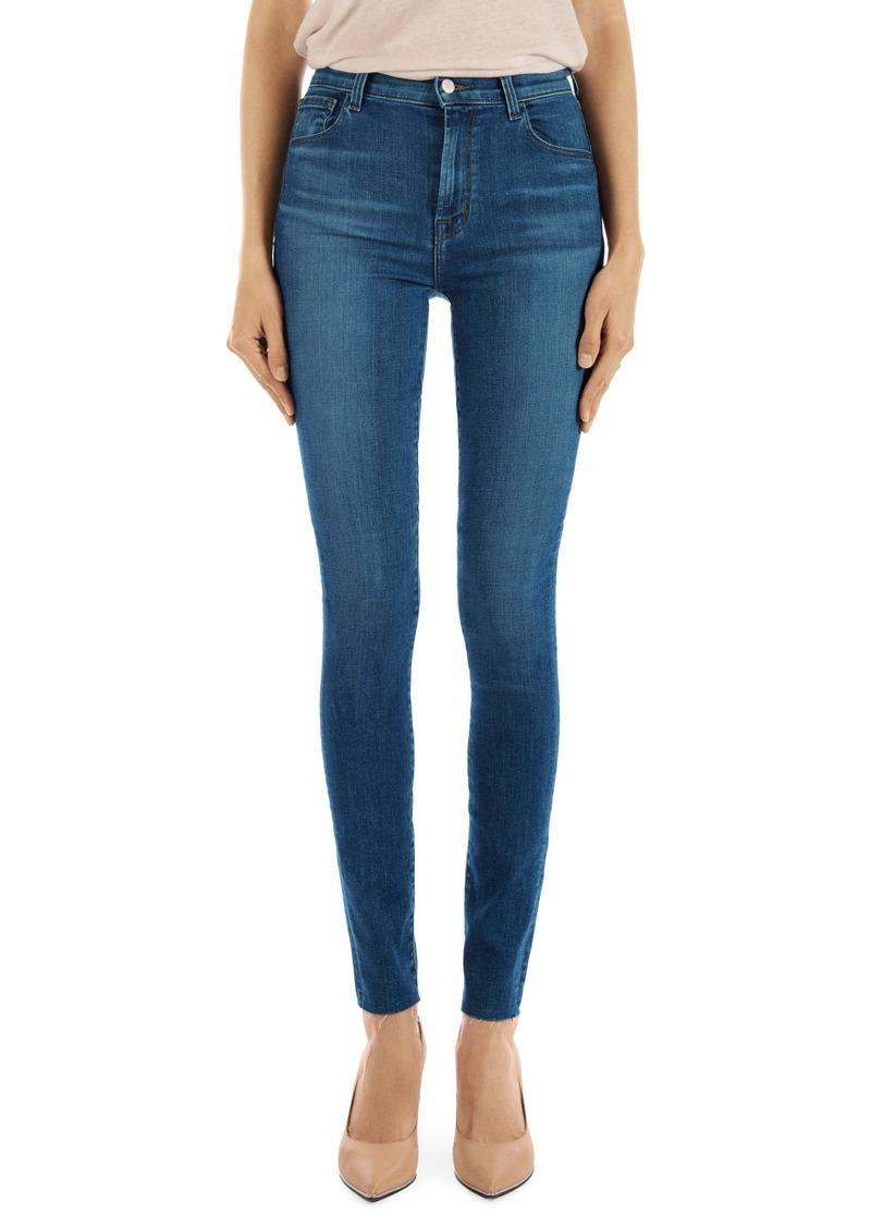0e5a11ed5ac8a J Brand J Brand Carolina Super High Waist Skinny Jeans (Lovesick ...