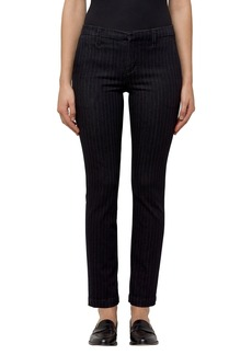 J Brand Clara Stripe Ankle Trousers