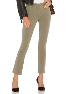 J Brand Clara Trouser in Green. - size 23 (also in 25,26,28,29)