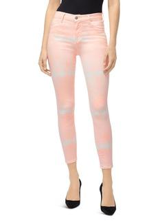 J Brand Coated Alana High-Rise Jeans in Coronal Shockwave