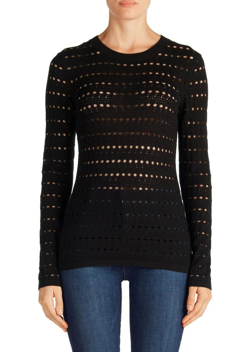 J Brand Colony Open Stitch Sweater