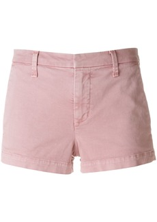 J Brand concealed front denim shorts - Pink & Purple