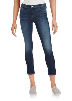 J BRAND Cotton Blend Faded Jeans