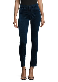 J BRAND Cotton-Blend Mid-Rise Pants