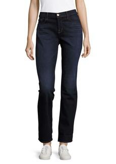 J BRAND Cotton-Blend Straight-Leg Jeans