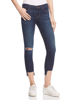 J Brand Crop Jeans in Disguise Destruct