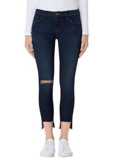 J Brand Crop Step Hem Skinny Jeans (Disguise Destruct)