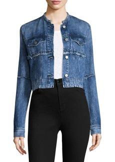 J Brand Cropped Denim Jacket