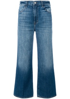 J Brand cropped flared jeans - Blue