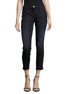 J BRAND Cropped Four-Pocket Jeans